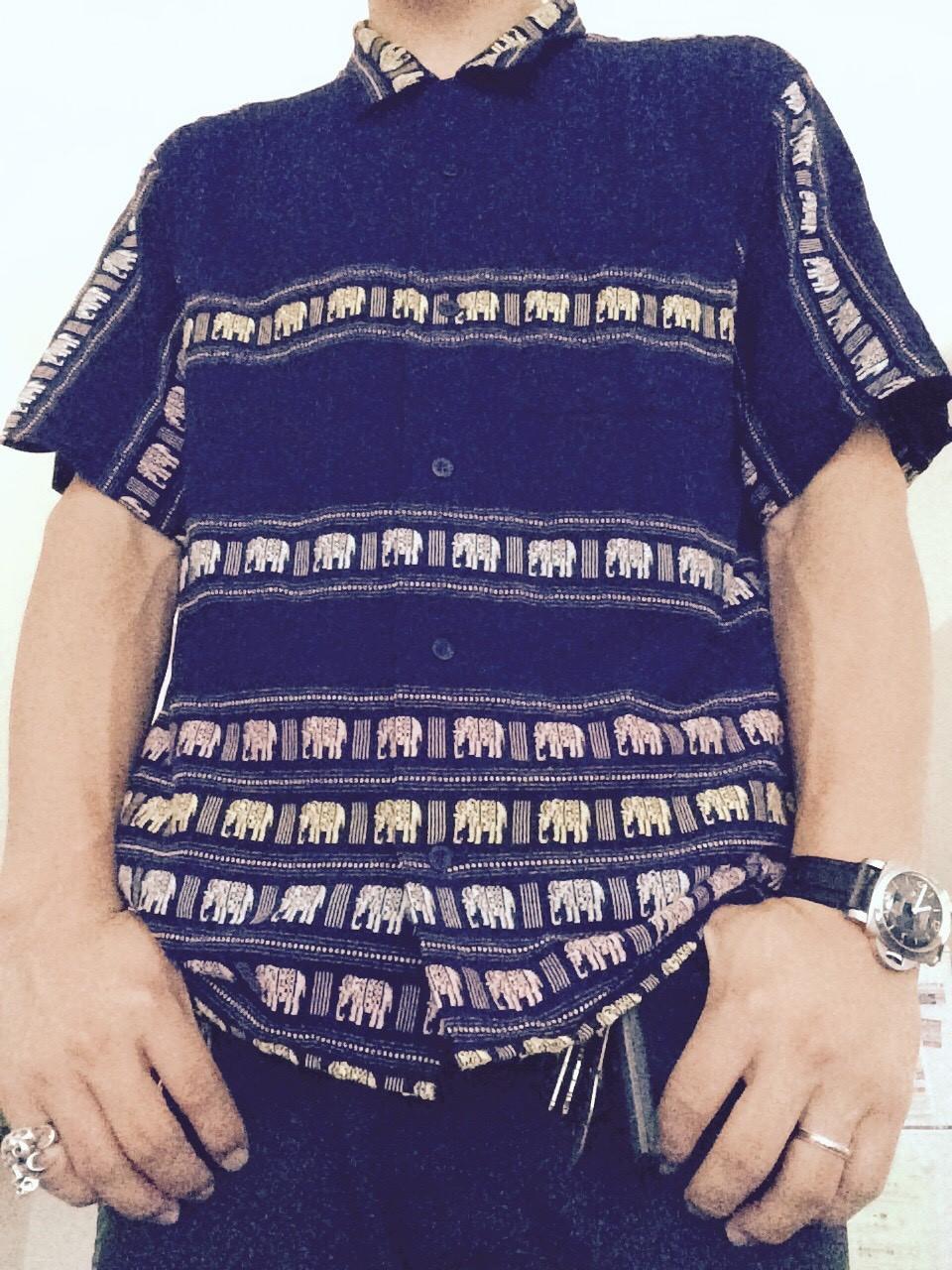 テンダーロインのエレファントシャツ