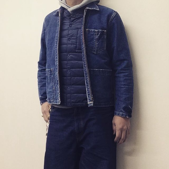 RATS USN 40'S ZIP DENIM JKT