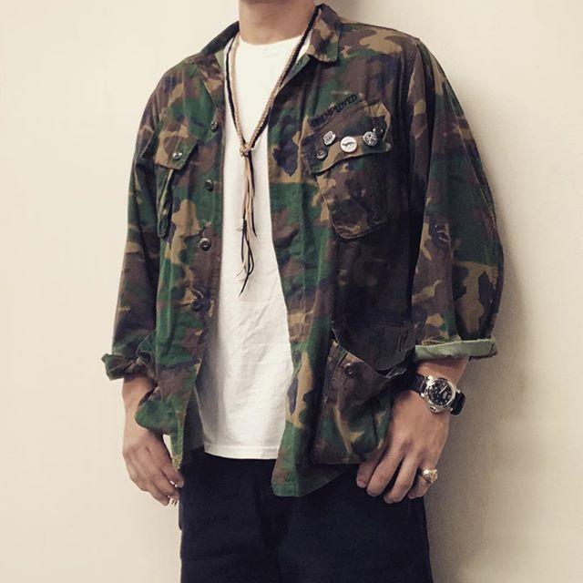 ファティーグシャツジャケット