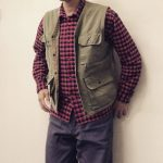 VEST * COTTON CHECK