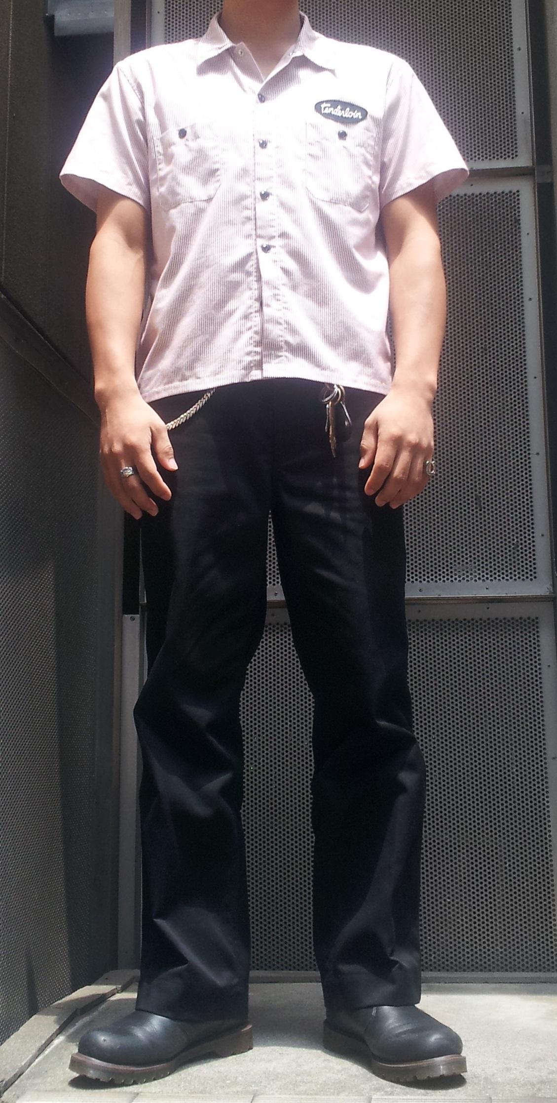 テンダーロインのワークシャツ