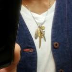 ラリースミスのネックレス