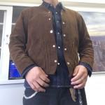 秋はエンジニアジャケットの重ね着の季節