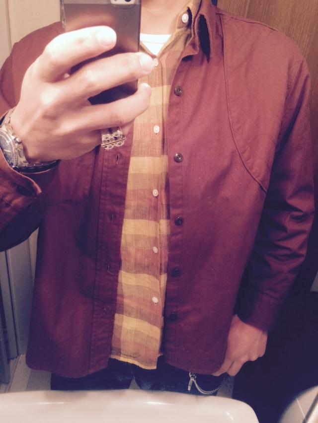 テンダーロインのハンティングシャツ×T-HIDE