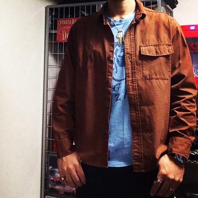 ハンティングシャツ × BDP × SK8-HI