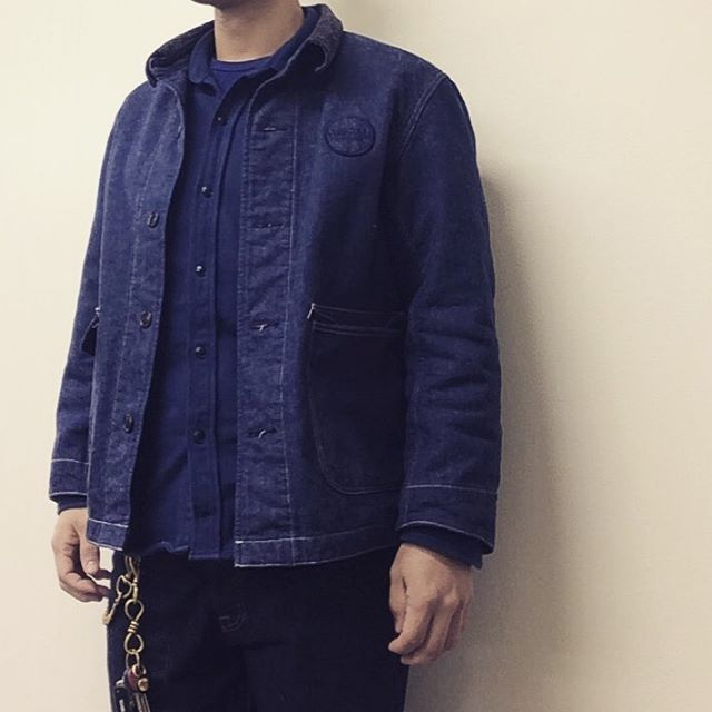 DENIM COVERALL * HEAVY FLANNEL SHT