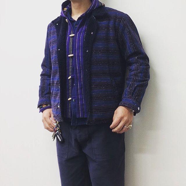 紫のGTM PARKA